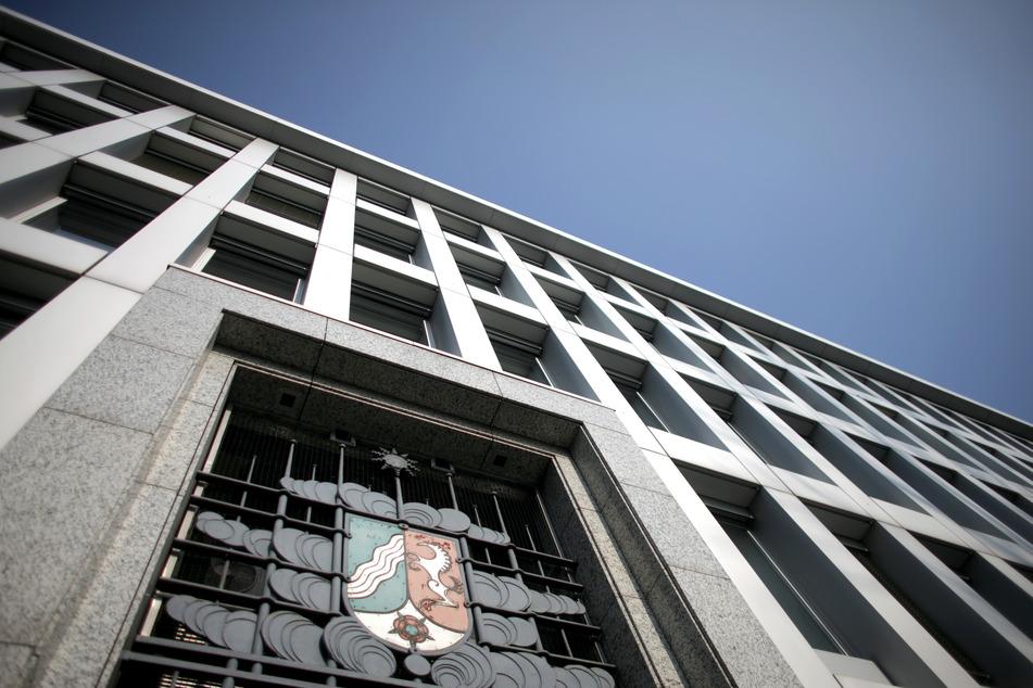 Blick auf das Finanzministerium in Düsseldorf.
