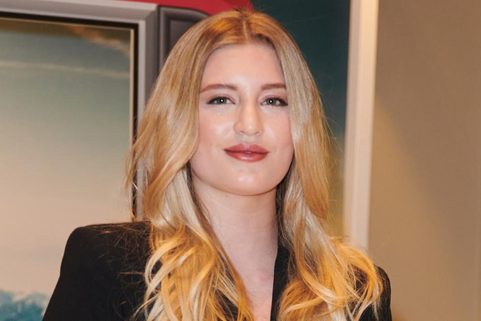Die Schauspielerin Luna Schweiger (24) wurde bei dem Unfall am Samstag verletzt.