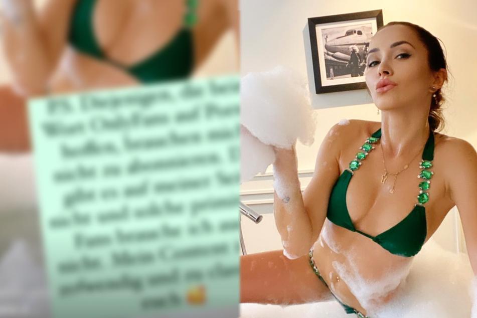 Model Anastasiya Avilova zeigt sich als heiße Bade-Nixe, doch die Abkühlung folgt sofort
