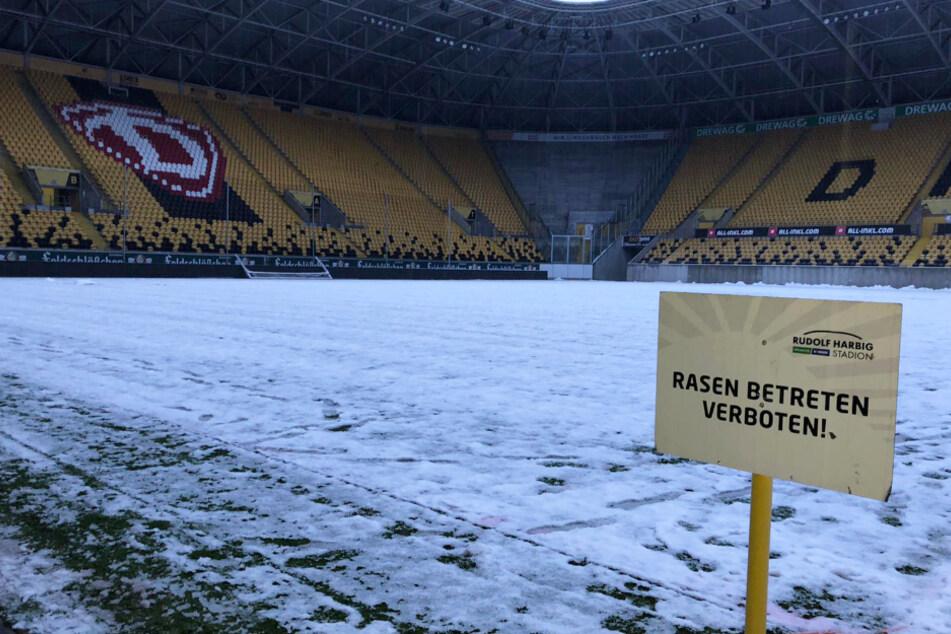 Das Heimspiel der SG Dynamo Dresden fällt aus.