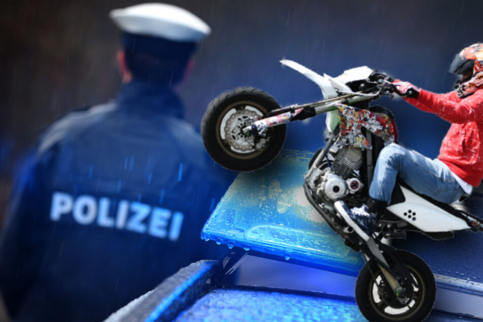 Halsbrecherische Aktion: Biker provoziert Anzeige in Oberfranken