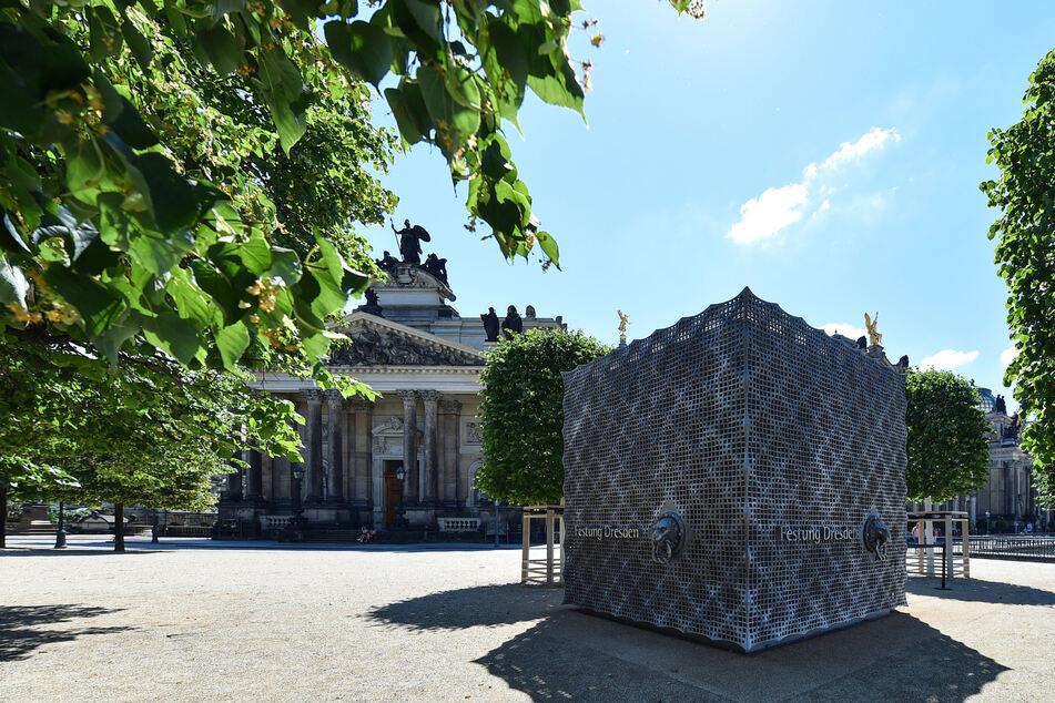 Auch die Festung Dresden ist wieder geöffnet.