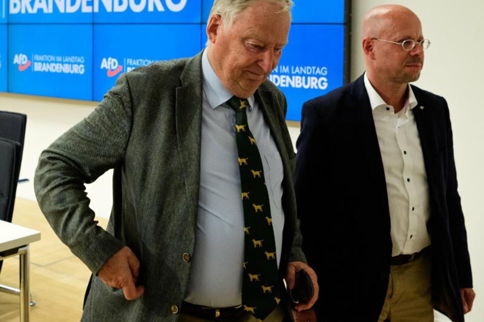 Andreas Kalbitz will zurück in die AfD: Jetzt geht der Streit in die nächste Runde!