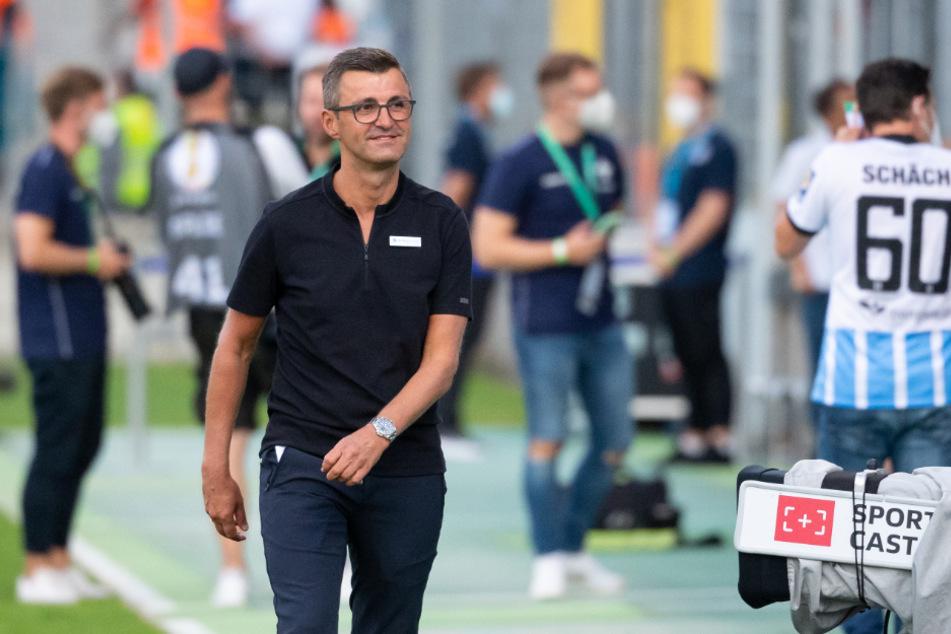 Michael Köllner und seine Löwen können wieder normal trainieren.