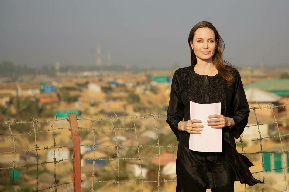Angelina Jolie is also a special envoy for the United Nations High Commissioner for Refugees (UNHCR).