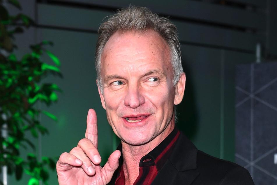 Sting (68), britischer Musiker, kommt zum International Music Award (IMA).