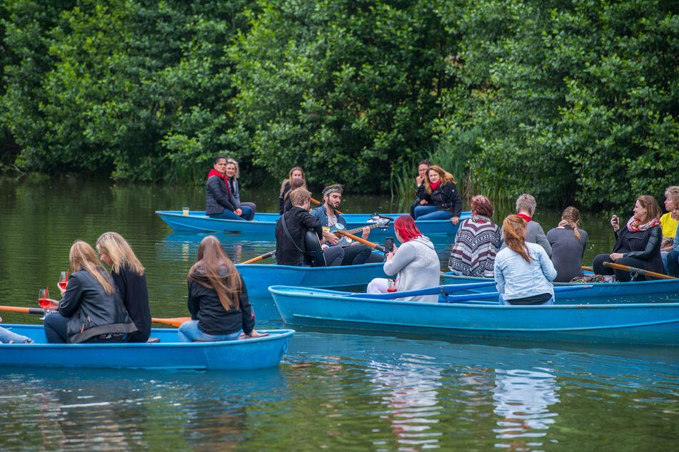 Erzgebirge: Hier gibt's Musik vom Ruderboot