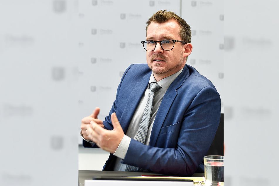 Baubürgermeister Raoul Schmidt-Lamontain (43, Grüne).
