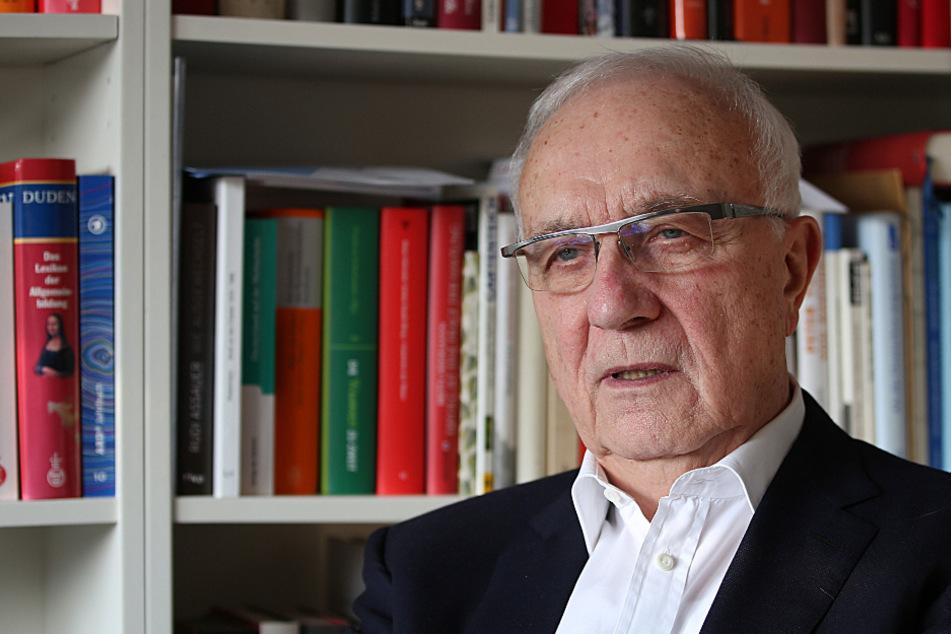 Fritz Pleitgen (82) wurde vor knapp zwei Wochen in Heidelberg operiert.