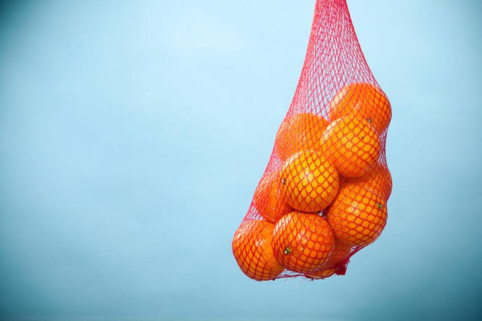 Ein Orangennetz wurde einem Ladendieb in Schmalkalden zum Verhängnis. (Symbolbild)