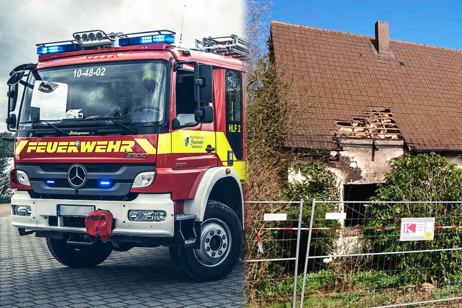 Nach Brand in Wohnhaus: Polizei findet Leiche, Identität unklar!
