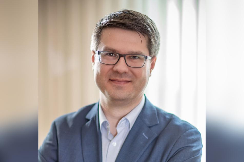 Döbelns Oberbürgermeister Sven Liebhauser (39, CDU).