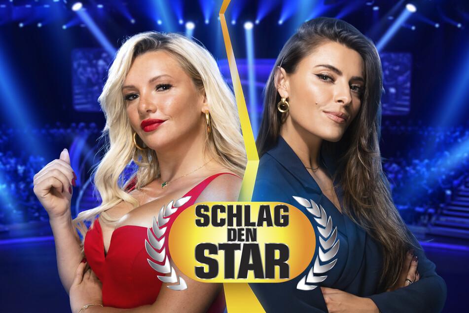 """Evelyn Burdecki (32, l.) und Sophia Thomalla (31) werden bei """"Schlag den Star"""" ihre Kräfte messen."""