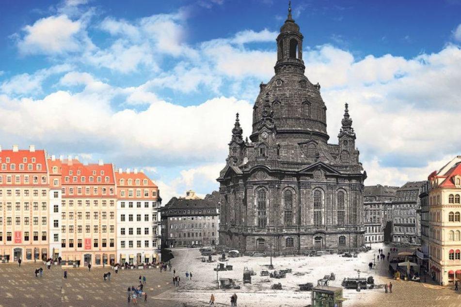 Neues Fotoprojekt zeigt Dresden damals und heute