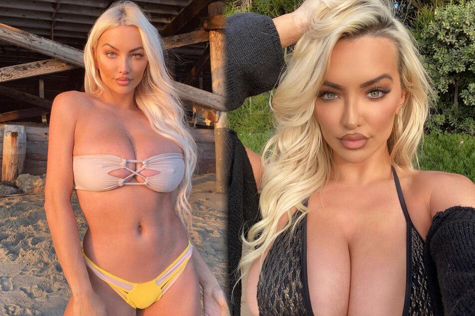 """""""Schaut mir in die Augen, wenn Ihr könnt"""": Sexy Model fordert Fans heraus"""