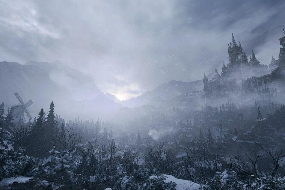 """Die Kulisse passt einfach perfekt ins """"Resident Evil""""-Universum. Dorf und Schloss erinnern stark an den vierten Teil."""