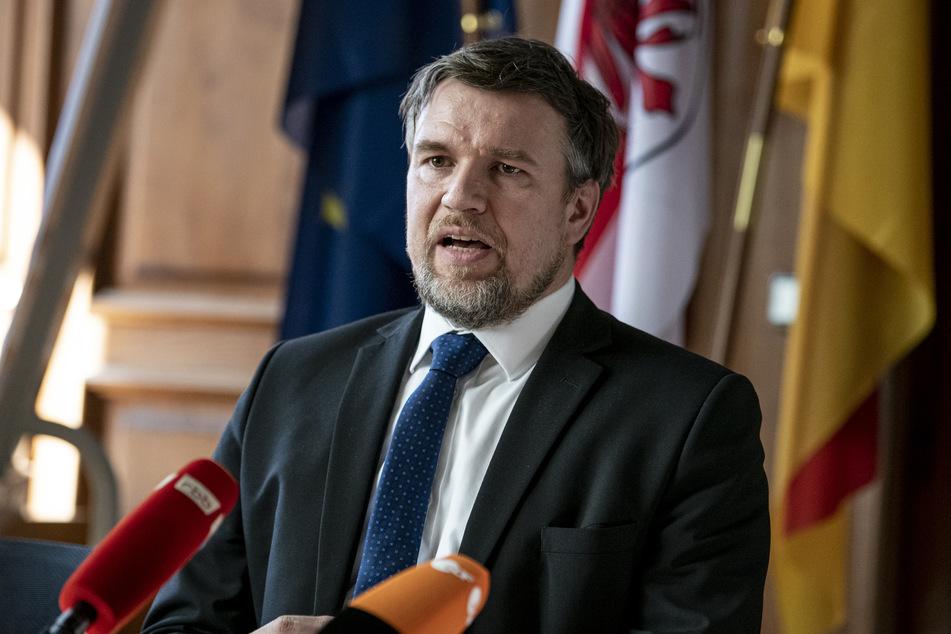 Landrat Ralf Reinhardt (SPD) appelliert an die Bürger, Infektionsschutzmaßnahmen weiter konsequent einzuhalten.
