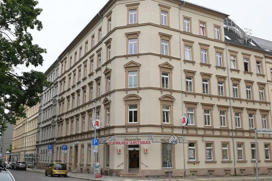 Dieses Wohn- und Geschäftshaus an der Karl-Liebknecht-Straße ist der zukünftige Sitz des neuen Zentrums für kriminologische Forschung.
