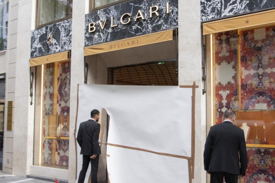 Alarm in der Goethestraße: Juwelier-Geschäft Bulgari ausgeraubt!