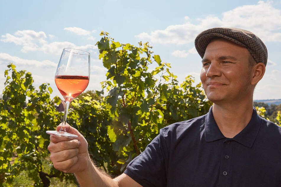 Auch Kellermeister Felix Hößelbarth (Hoflößnitz) lädt zum Tag des offenen Weingutes ein.