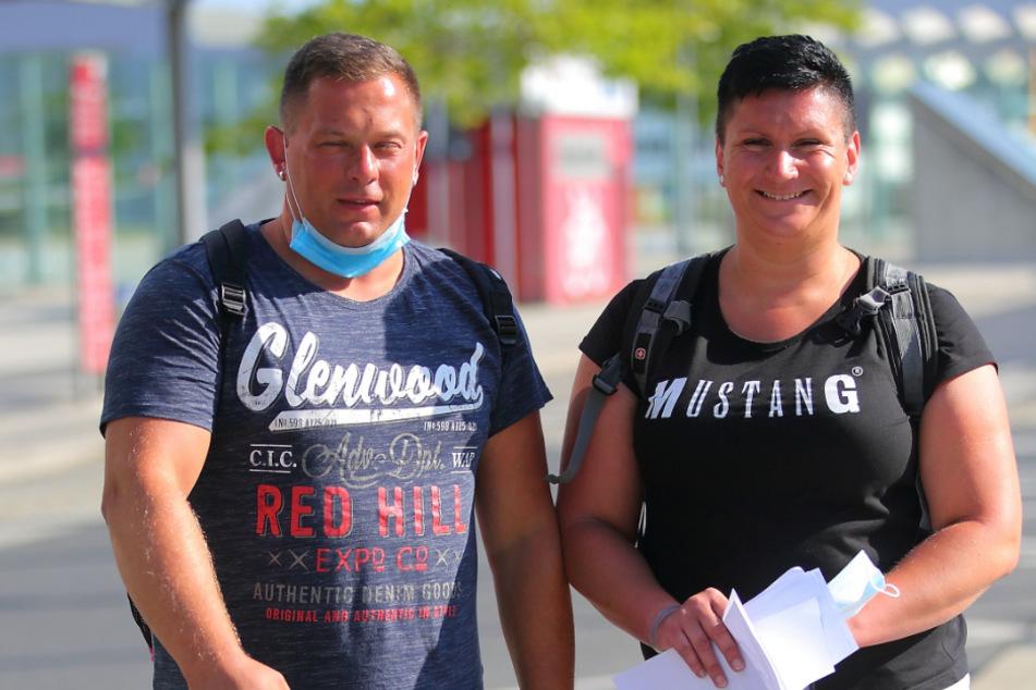 Melanie Loske (31) und Thorsten Ruckdeschel-Fischer (34) haben sich auf Malle sicher gefühlt.