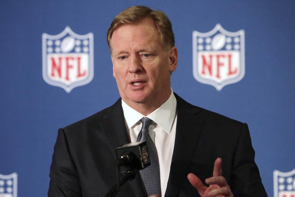 Roger Goodell ist der Chef der amerikanischen Football-Liga NFL.
