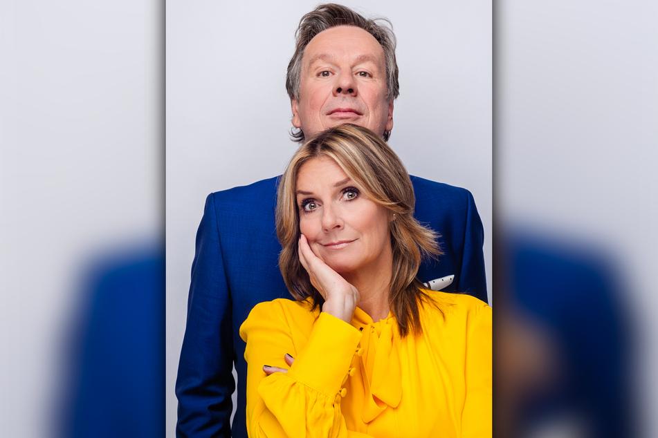 Die Riverboat-Moderatoren Kim Fisher (51) und Jörg Kachelmann (63).