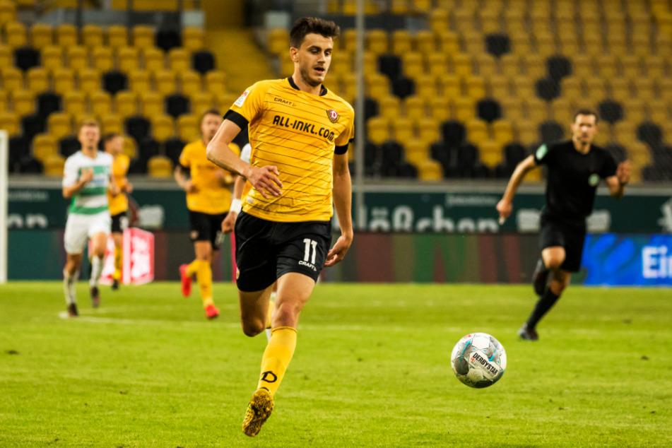 Alexander Jeremejeff spielte nur eine Saison für Dynamo Dresden.