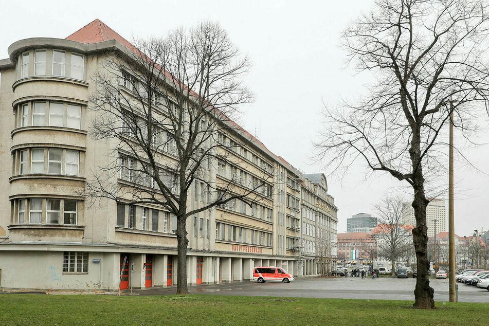 Die Kosten für den Umbau der Leipziger Hauptfeuerwache steigen auf 26,3 Millionen Euro. (Archivbild)