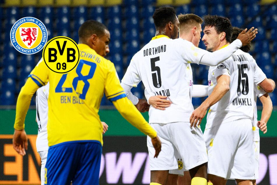 BVB betreibt Chancenwucher in Braunschweig: Dortmund quält sich weiter!