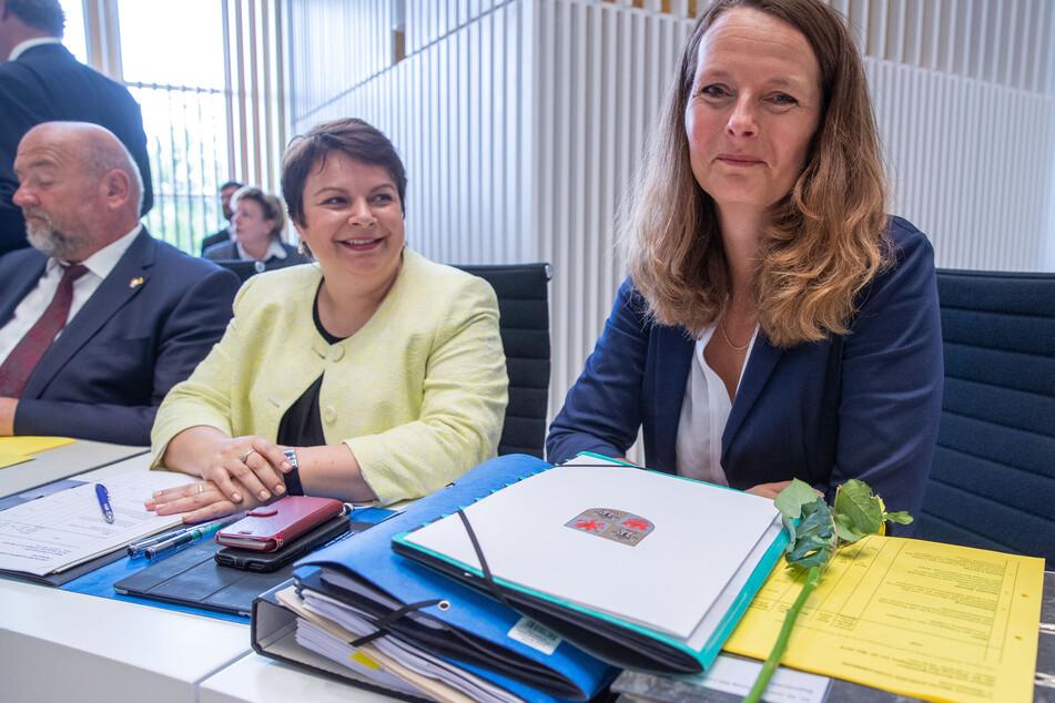 Bettina Martin (SPD, r.), Kultusministerin von Mecklenburg-Vorpommern.
