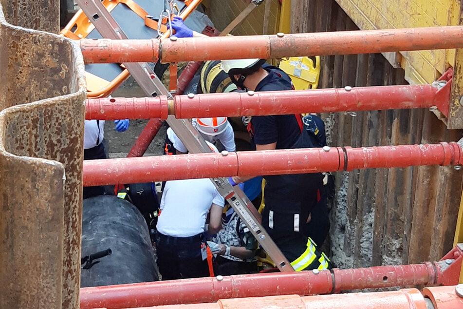 Im Münchner Stadtteil Ramersdorf ist es zu einem Unfall gekommen, eine Radfahrerin schwer verletzt.