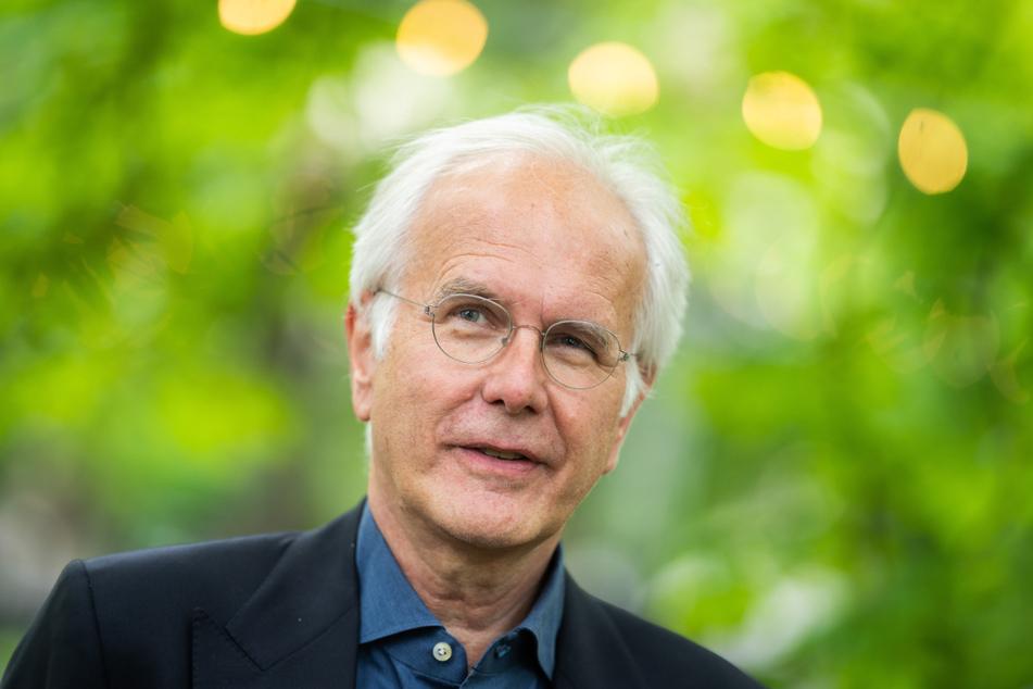 """Entertainer Harald Schmidt (64, Foto) unterhielt sich mit Kretschmann bei der Veranstaltung """"Kultur im Park""""."""