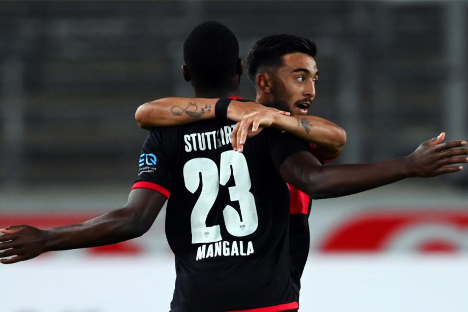 Orel Mangala (23) und Nicolas Gonzalez (23) stehen dem VfB Stuttgart für das Saisonfinale voraussichtlich nicht zur Verfügung. Für Gonzalez könnte es wohl höchstens für einen Kurzeinsatz reichen.