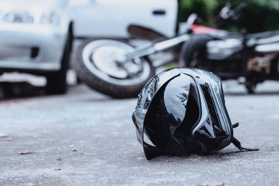 Horror-Crash: Motorräder rasen ineinander, beide Biker tot