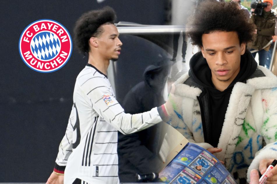"""FC-Bayern-Star Leroy Sané beklagt sich über sein Image: """"Bling-Bling-Schublade"""""""