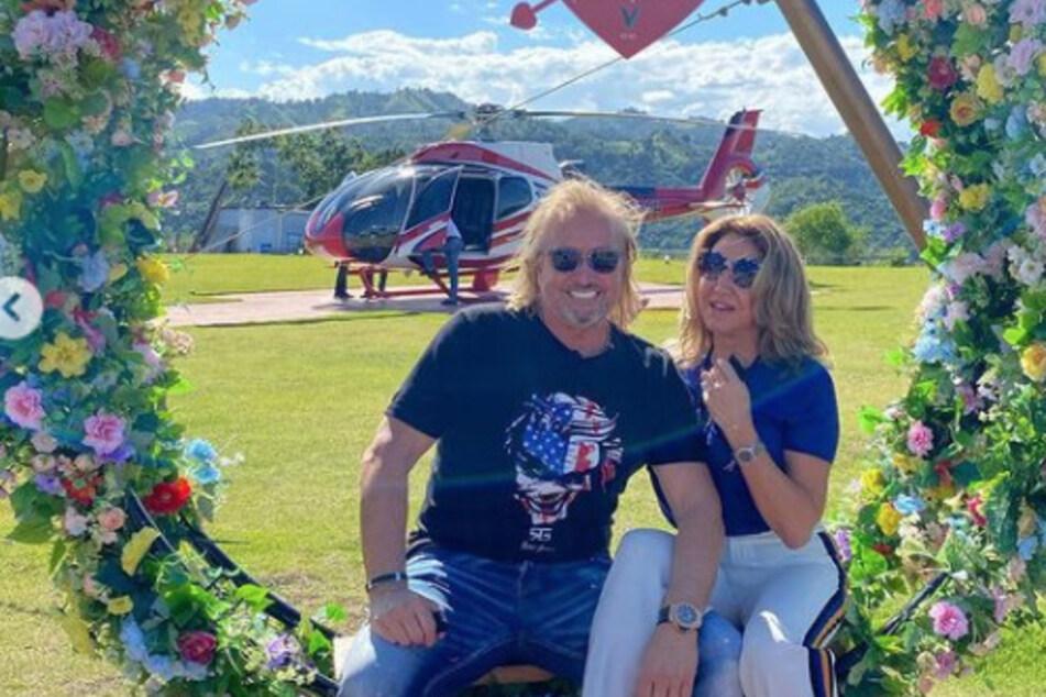 Die Geissens: Mit Hubschrauber kurz mal zum Strand