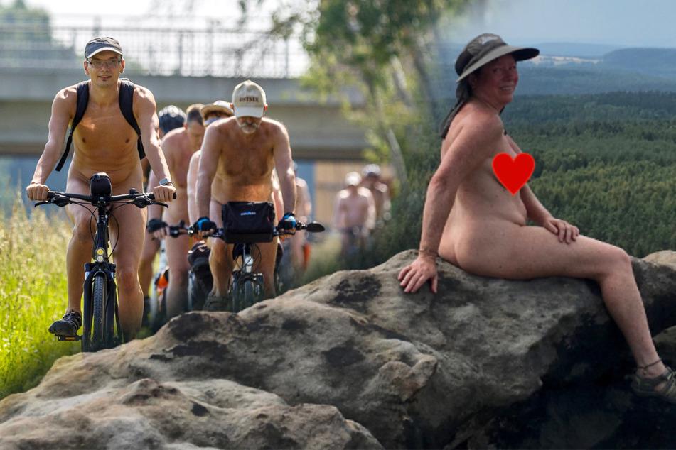 Natürlich die Natur genießen: Nacktwanderer erobern die Sächsische Schweiz