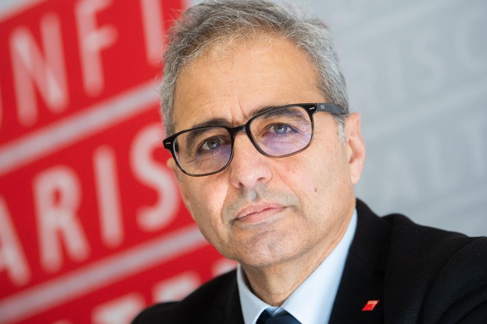 Mehrdad Payandeh, Vorsitzender des DGB-Bezirks Niedersachsen - Bremen - Sachsen-Anhalt.