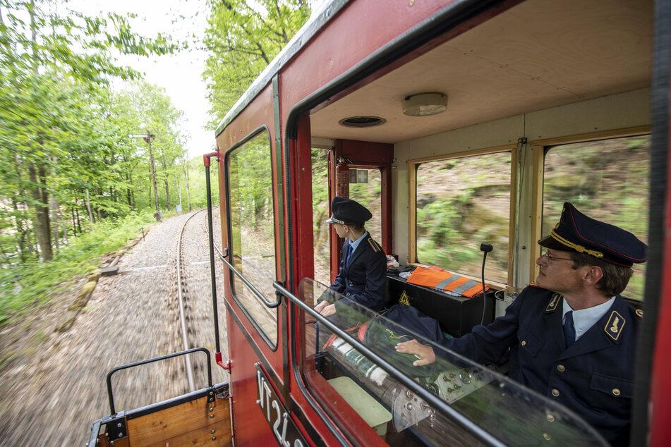 Mit der Chemnitztalbahn könnt Ihr Eisenbahnromantik pur erleben.