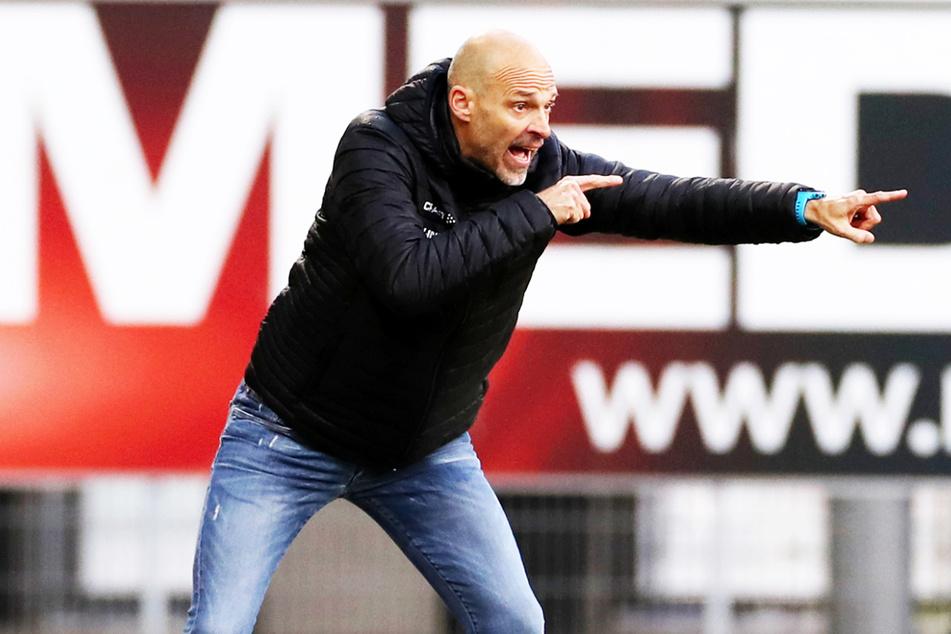 Der Trend stimmt: Unter Neu-Coach Alexander Schmidt (52) hat Dynamo Dresden in drei Spielen sieben Punkte bei einem Torverhältnis von 3:0 geholt.