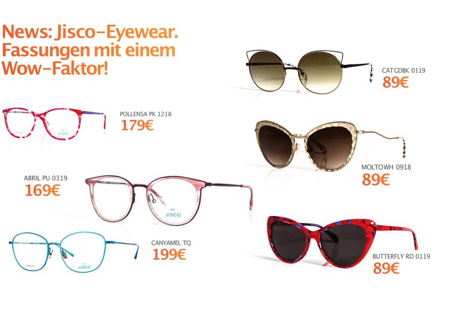 Jisco-Eyewear Brille ab 89 Euro.