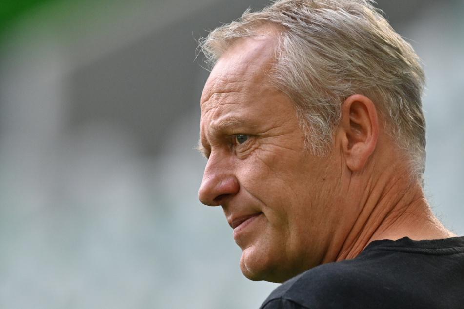 Christian Streich (55) ist Cheftrainer beim Fußball-Bundesligisten SC Freiburg.