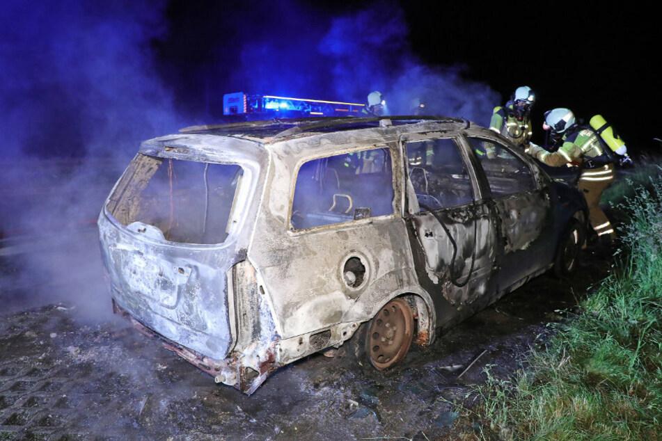 Schrott-Karre an der A17: Dieser Ford sorgt für Probleme!