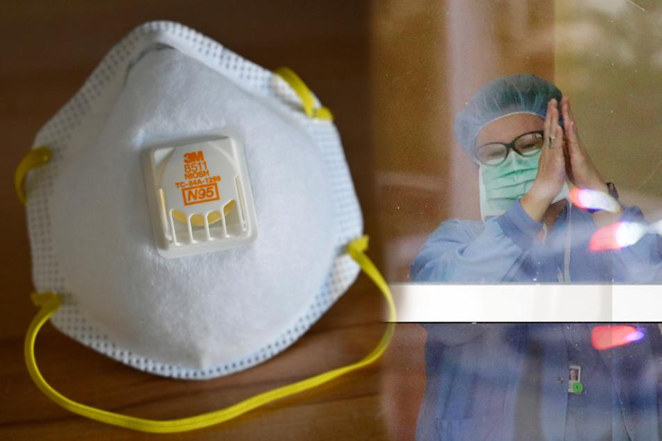 Krankenschwester wird suspendiert, weil sie eine Maske tragen wollte