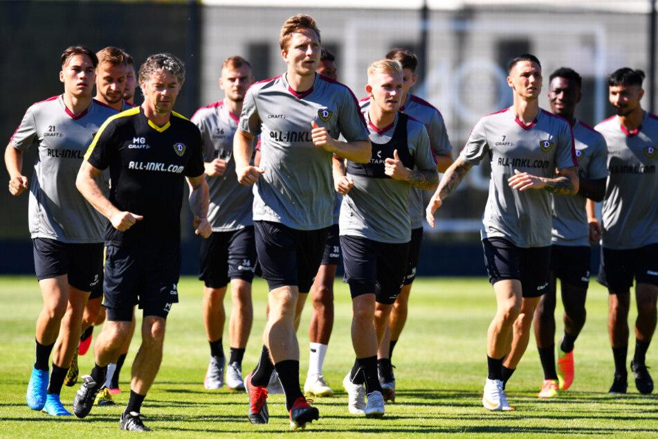 Dynamo Dresden testet in seiner neuen Trainingsakademie gegen HB Köge.