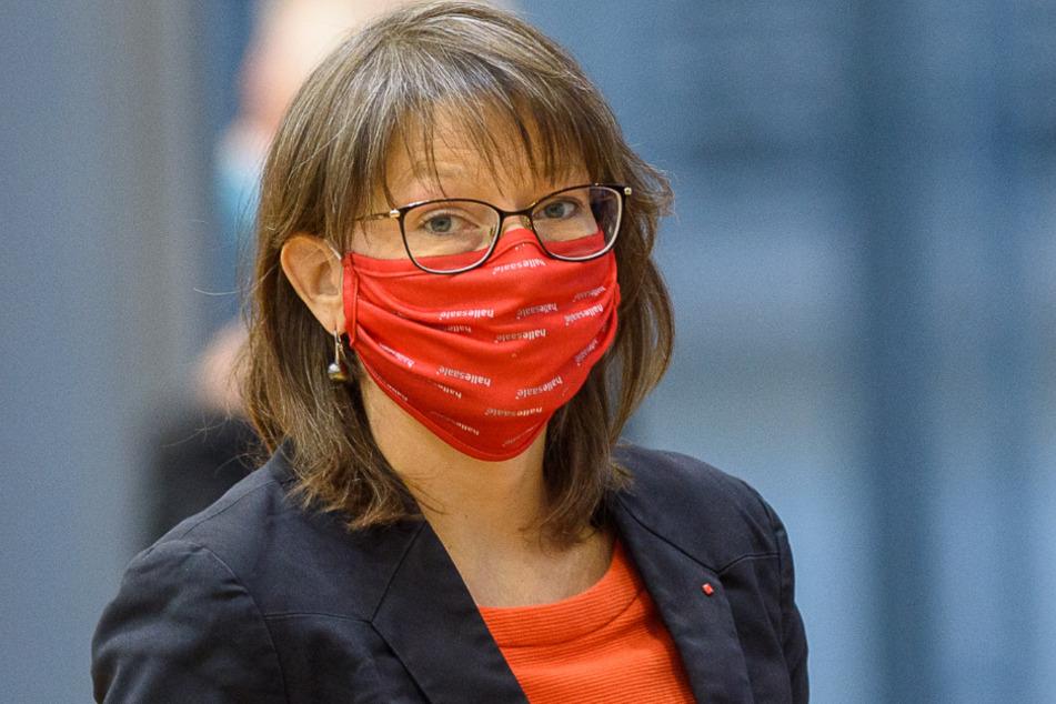 Katja Pähle, Fraktionsvorsitzende der SPD in Sachsen-Anhalt.