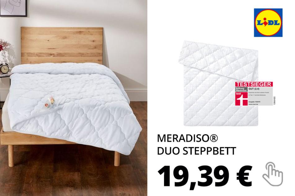 MERADISO® Duo Steppbett