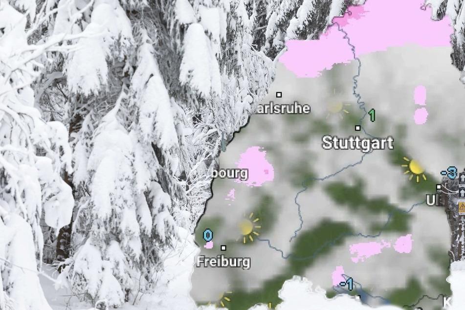 Schnee! So wird das Wetter in Baden-Württemberg