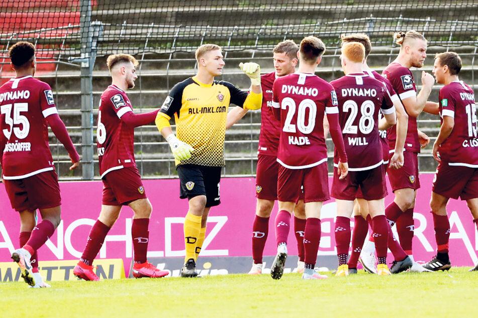 Drei Wochen erst her und trotzdem schon wieder so weit weg: In Lübeck feierte Dynamo den zweiten Auswärtsdreier der Saison. Der dritte soll heute folgen.